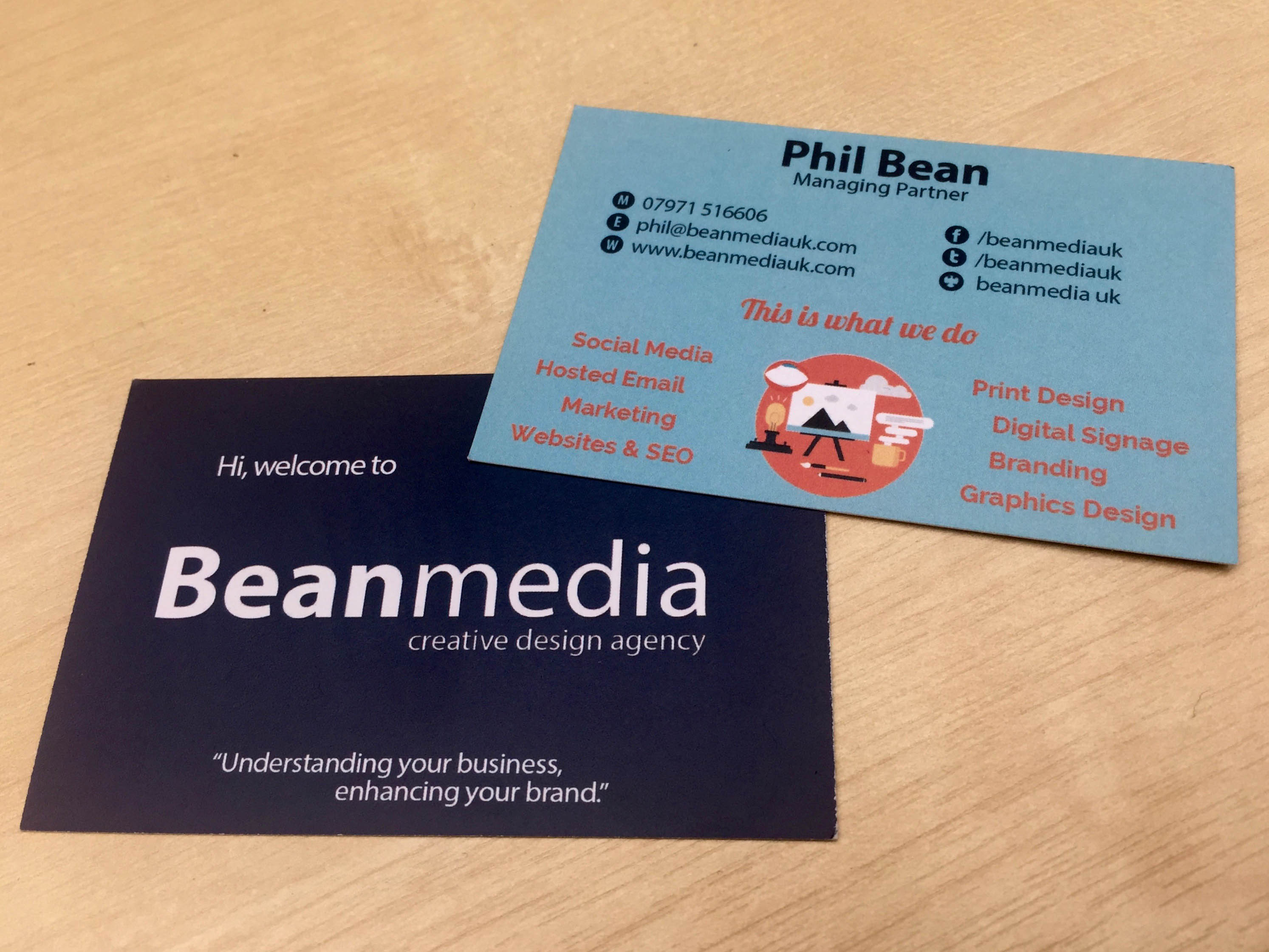 Beanmedia Business Cards Image
