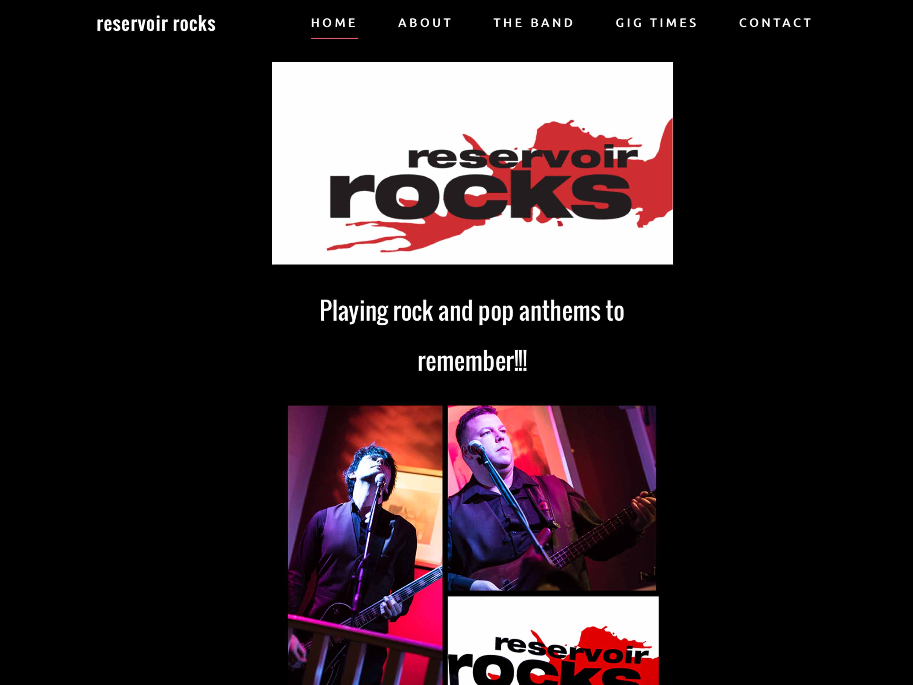 Reservoir Rocks Website Image